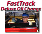 Fast Track Deluxe Oil Change